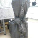 Чехлы для стульев бу ручная работа.. Фото 1.