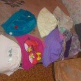Детские шапки,понамки. Фото 1.