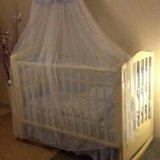Детская кроватка. Фото 1. Реутов.