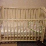Детская кроватка. Фото 2. Реутов.