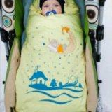 Зимний пуховой конверт-одеяло. Фото 1.