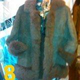 Продам дубленку жен натуральный мех лама раз.44-46. Фото 1. Санкт-Петербург.