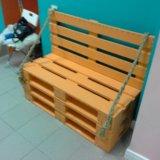 Мебель из паллет. Фото 1.