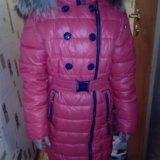 Палто  зимние fosb на девочку140р очень теплое. Фото 3. Санкт-Петербург.
