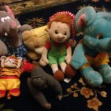 Детские мягкие игрушки. Фото 2.