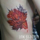 Художественная татуировка. тату. tattoo. Фото 1.