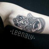 Художественная татуировка. тату. tattoo. Фото 2.