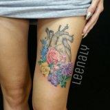Художественная татуировка. тату. tattoo. Фото 4.