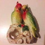 Статуэтка попугаи. Фото 1.
