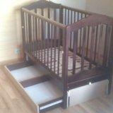 Кроватка детская.матрац бесплатно ортопедический. Фото 3. Москва.