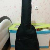 Гитара 6 струн. в месте с чехлом зимним. Фото 1. Москва.