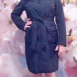 Теплое пальто-куртка 44-46 размера. Фото 3. Красногорск.