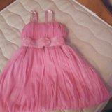 Платье на девочку 4-6 лет. Фото 1.