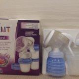 Молокоотсос avent +аксессуары как новый. Фото 1.
