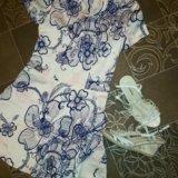 Платье, босоножки. Фото 1.