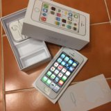 Iphone 5s (32gb) silver. Фото 1. Москва.