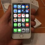 Iphone 5s (32gb) silver. Фото 3. Москва.