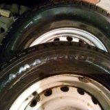 Зимка колёса. Фото 1.