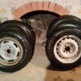 Зимка колёса. Фото 4.