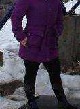 Куртка теплая с капюшоном. один раз одета в горы. Фото 2.
