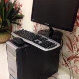 Компьютер настольный полный комплект. Фото 1. Москва.