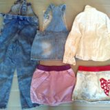 Пакет вещей для девочки на 5 лет. Фото 1. Санкт-Петербург.