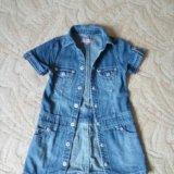 Платье джинсовое. Фото 1. Старая.