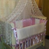 Кроватка лель лаванда. Фото 2. Москва.