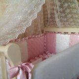 Кроватка лель лаванда. Фото 3. Москва.
