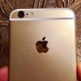 Iphone 6 золотой 16гб. Фото 3.