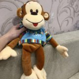"""Мягкая игрушка """" обезьянка"""". Фото 1."""
