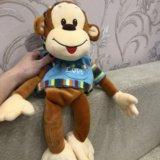 """Мягкая игрушка """" обезьянка"""". Фото 2."""