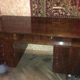 Антиквар.стол из натуральн. дерева под реставрацию. Фото 2.