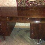 Антиквар.стол из натуральн. дерева под реставрацию. Фото 1.