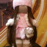 Кукла ручная работа. Фото 1.