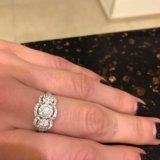 Новое золотое кольцо с бриллиантами. Фото 3.