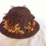 """Шляпка """" осень """" для куклы. Фото 1."""