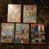 Dvd диски сборники детских мультфильмов поштучно. Фото 1. Электросталь.