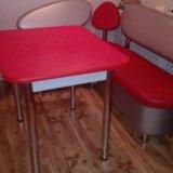 Кухонный набор стол 90 на 70уголок110 на 150. Фото 1.
