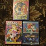 Dvd диски сборники детских мультфильмов для девоч. Фото 1.