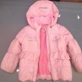 Куртка зимняя/межсезон на девочку 110 см. Фото 1.