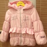 Куртка зимняя/межсезон на девочку 110 см. Фото 3.