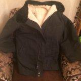 Лётная меховая куртка. Фото 1.