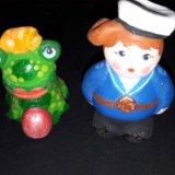 Дымковская глиняная игрушка. Фото 1.