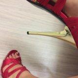 Босоножки красные. Фото 3.
