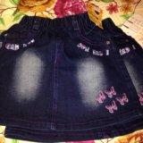 Новые джинсовые юбочки. Фото 3. Реутов.