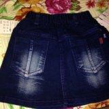 Новые джинсовые юбочки. Фото 4.