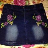 Новые джинсовые юбочки. Фото 1. Реутов.
