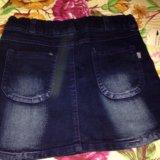 Новые джинсовые юбочки. Фото 2. Реутов.