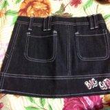 Новая джинсовая юбочка. Фото 3. Реутов.